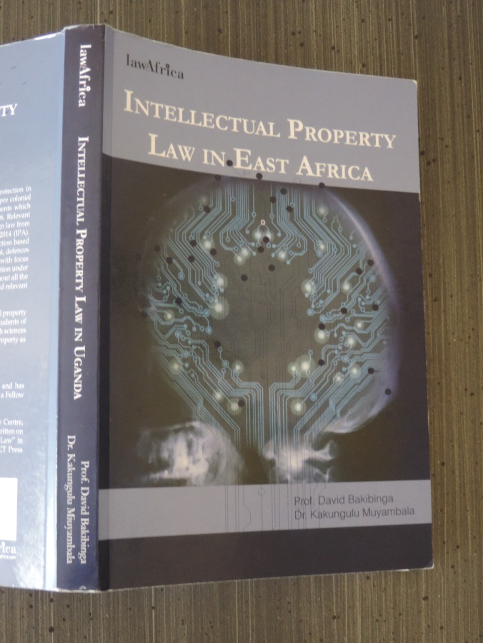 Intellectual Property Law in Uganda East Africa LawAfrica Cover 2016